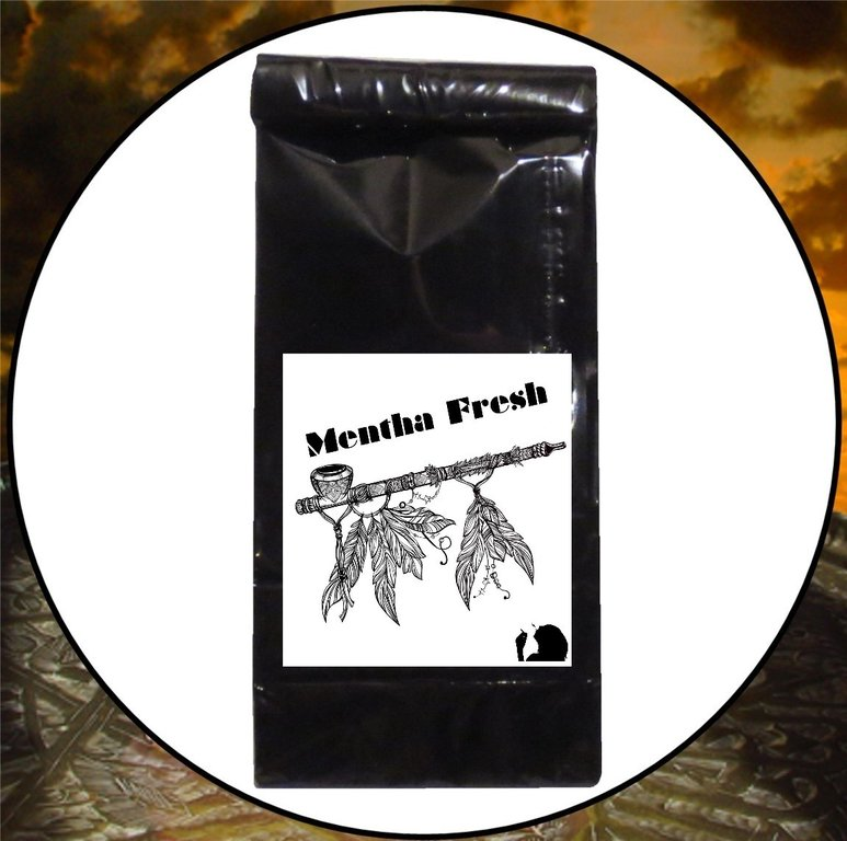 50g Menta Fresh American Native Holy Smoke Tabakersatz