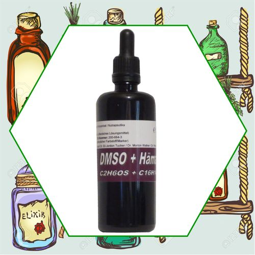 "50ml Hämatoxylin plus DMSO Dimethylsulfoxid Ph. Eur. ""Stammlösung"" Dr. P. A. Fischer ..."
